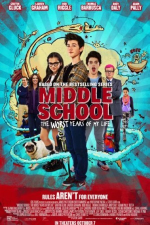 Rent Middle School: The Worst Years of My Life Online