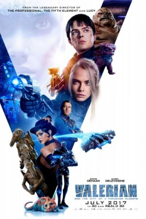 Rent Valerian and the City of a Thousand Planets Online